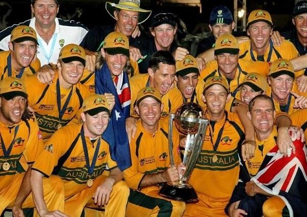 Australia cricket team won 2007 ICC world cup in West Indies