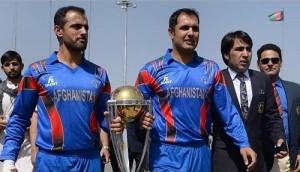 Afghanistan 15 members squad declared for cricket world cup 2015.