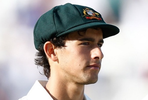 Ashton Agar joined Australian test squad for Sydney test against India.