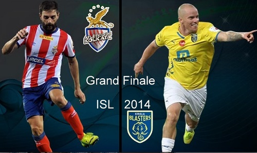 Atletico de Kolkata to play Kerala Blasters FC in First Indian super league final.