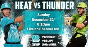 Sydney Thunder vs Brisbane Heat live stream, match preview