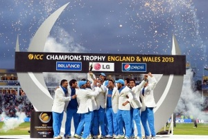 ECB proposed cardiff, edgbaston and The Oval for champions trophy 2017.