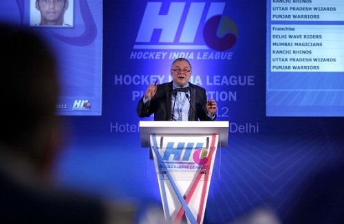 Hockey India League 2015 auction and players bid.