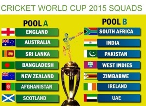 ICC cricket world cup 2015 squads for all 14 teams probable-30 players list.