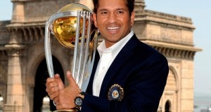 Sachin Tendulkar named as Ambassador for ICC world cup 2015