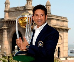 ICC named sachin tendulkar as the ambassador of 2015 cricket world cup.