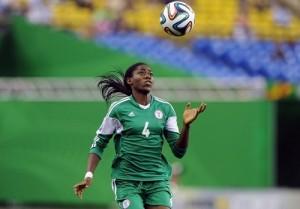 Ismaila Mabo says Asisat Oshoala will make impact in fifa world cup 2015.