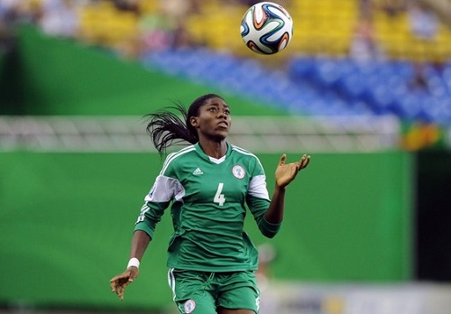 Ismaila Mabo says Asisat Oshoala will make impact in fifa world cup 2015.