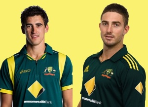 Mitchell Starc, Shaun Marsh included in Australia XI for second test match against India in Brisbane.