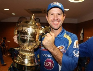 Ricky Ponting will be the head coach of Mumbai Indians in IPL 2015.
