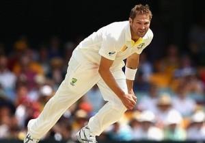 Ryan Harris included in Australia's third test against India in Border-Gavaskar trophy 2014-15.