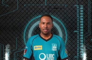 Samuel Badree ruled out from big bash league 2014-15 due to shoulder injury.