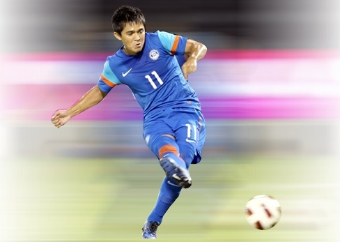 Sunil Chhetri won 2014 AIFF player of the year.