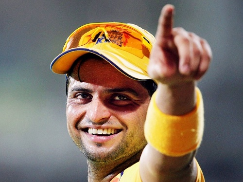 Suresh Raina joined hockey india league franchise Uttar Pradesh Wizards as co-owner.