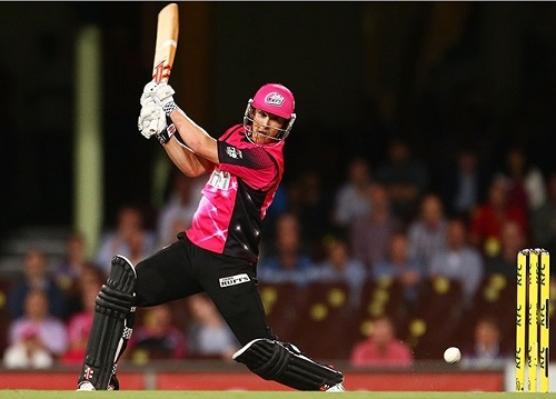 Sydney Sixers won by 8 wickets against Melbourne Renegades.
