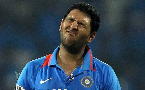 Yuvraj Singh out from BCCI players contracted list 2014-15.