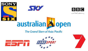 2015 Australian Open broadcasters, live telecast and streaming info.
