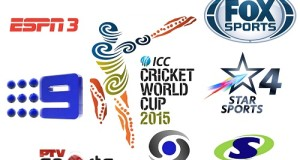2015 ICC world cup Broadcasters, TV channels, Live streaming
