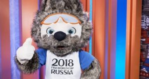 "FIFA World Cup 2018 Mascot ""Zabivaka"" Pictures"