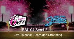 ADS vs SYS BBL 04 First Semi-final live stream, score, preview