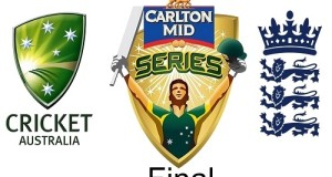 Australia-England to fight for 2015 Tri-series trophy