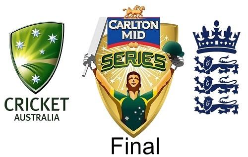 Australia-England to fight for Carlton mid odi trophy 2015.
