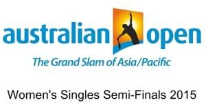 Australian Open 2015 Women's Singles Semifinal line-ups