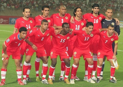 Bahrain football team 23 man roster for 2015 AFC Asian cup.