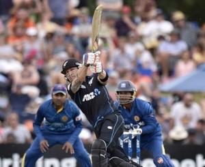 Brendon McCullum scored half century against SL in Christchurch ODI 2015.