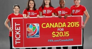 Buy Tickets for FIFA Women's World Cup 2015 at 20.15$ price