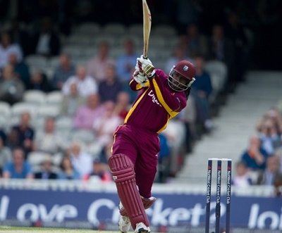 Chris Gayle scored 77 in 31 balls against South Africa in first twenty20 match 2015.