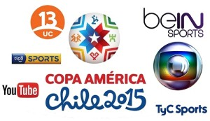 Copa America 2015 broadcasters, tv channels and live streaming details.