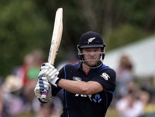 Corey Andreson named man of the match in 1st ODI against Sri Lanka in Christchurch.