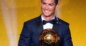 Cristiano Ronaldo wins 2014 FIFA Ballon d'Or