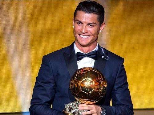 Cristiano Ronaldo wins FIFA Ballon d'Or 2014.