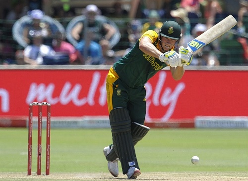 David Miller scores first ODI hundred against West Indies at Port Elizabeth.