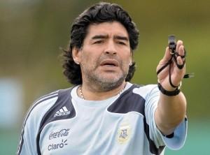 Diego Maradona predicts Chile to win Copa America 2015.