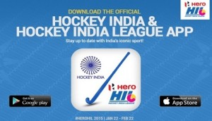 Download hockey india and hockey india league official apps.