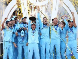 England won first ICC cricket world cup in 2019 photo