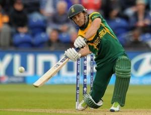FAF du Plessis hits maiden t20 international century against West Indies in Johannesburg.