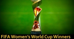 FIFA Women's World Cup Winners List Since 1991