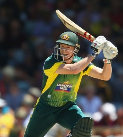 George Bailey banned to play third odi against England in Hobart.