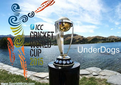 ICC cricket world cup 2015 underdogs.
