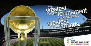ICC declares fantasy league for 2015 cricket world cup.