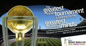 ICC announces Fantasy League for 2015 cricket world cup