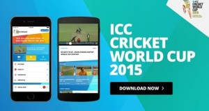 ICC launches Official app for 2015 Cricket World Cup