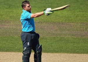 Ian Bell becomes highest run scorer for England in ODIs.