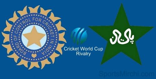 India vs Pakistan cricket world cup rivalry history.