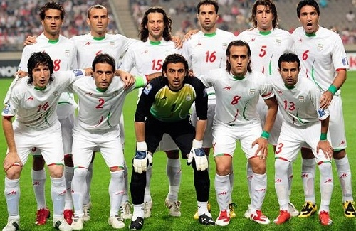 Iran 23 man roster for afc asian cup 2015