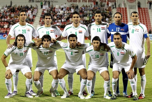 Iraq 23 man squad for asian cup 2015.